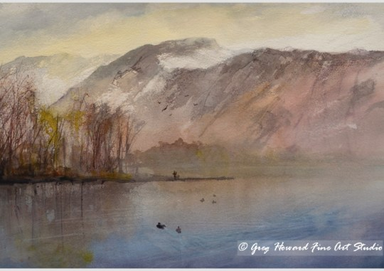 Early Morning On Derwentwater, Cumbria