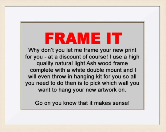 FRAME TEXT LARGE