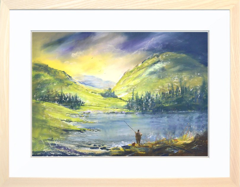 Framed Painting A Bit Of Peace And Quiet II