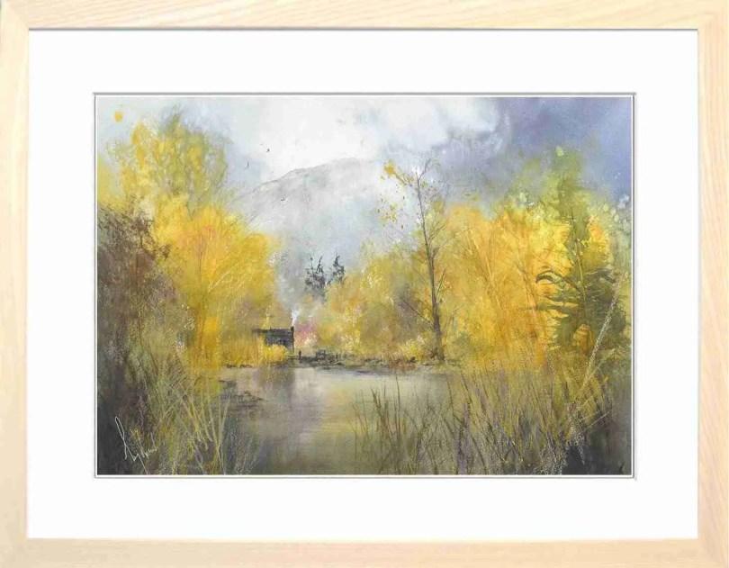 Framed Painting A Quiet Spot II