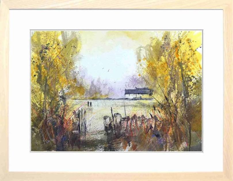 Framed Painting Autumns Final Flourish I