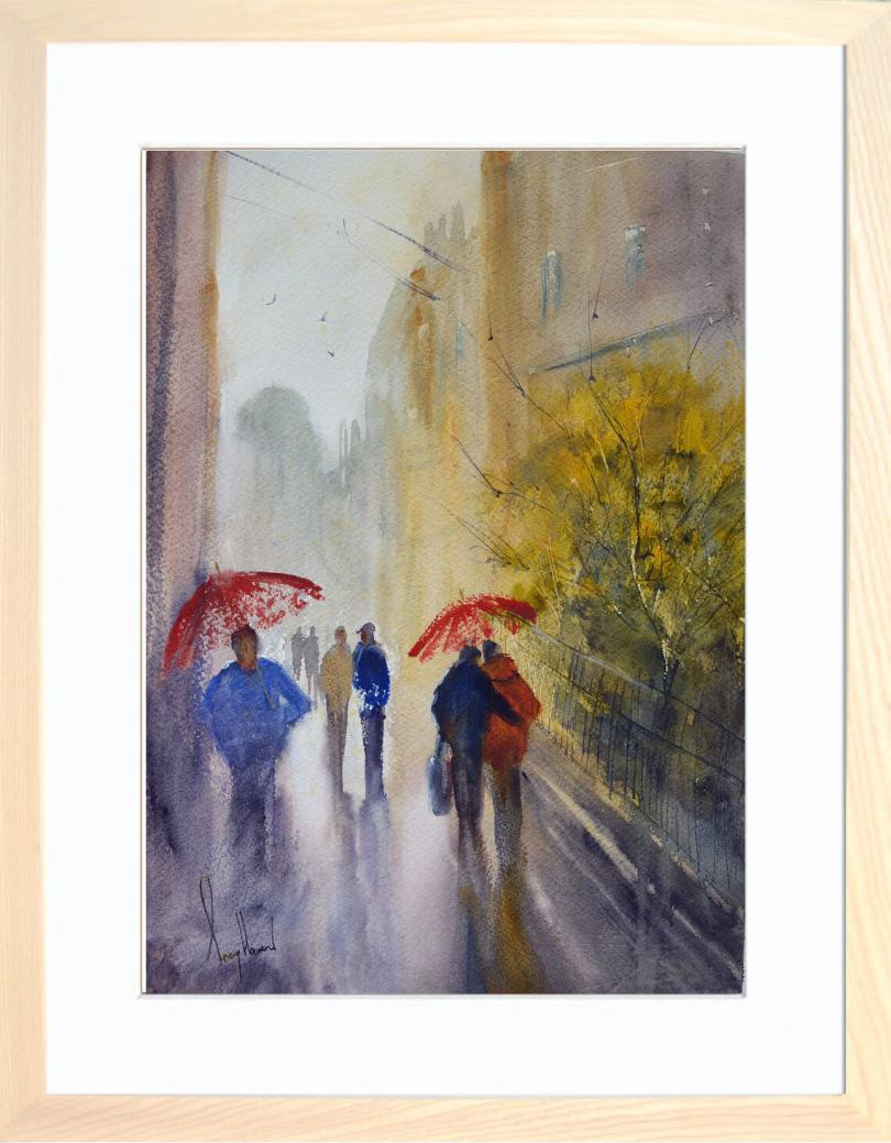 Framed Painting Between Showers IV