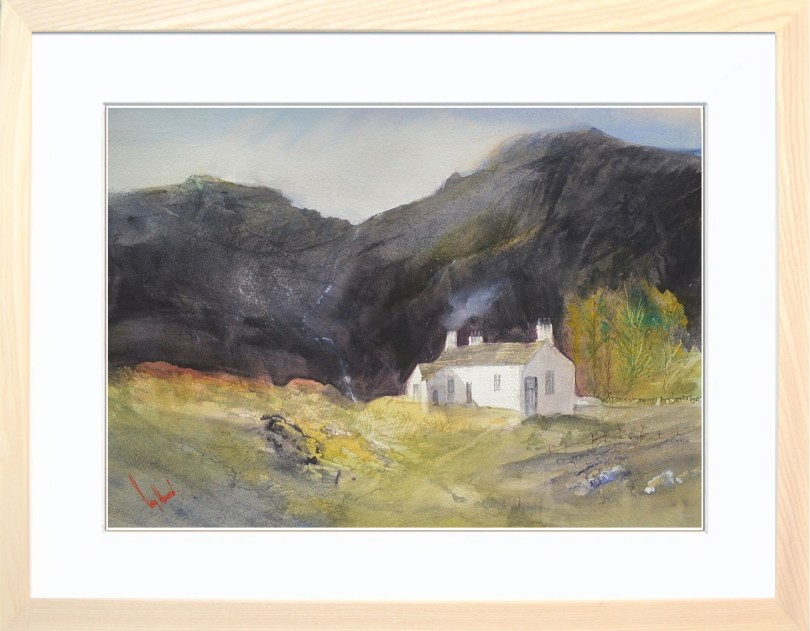 Framed Painting Crofters Cottage II