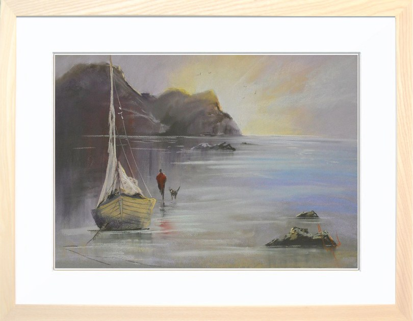 Framed Painting Evening Tide V