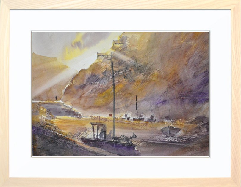 Framed Painting Fishers Cove II