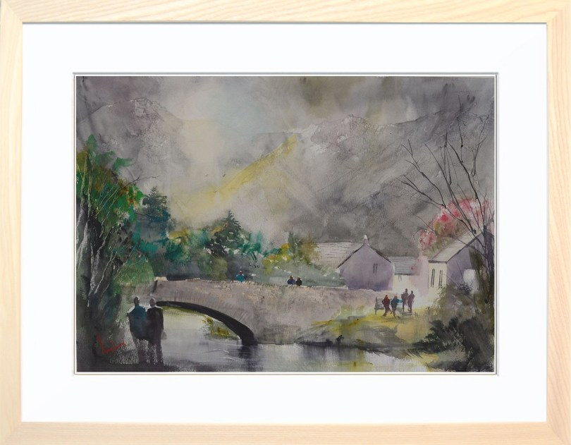 Framed Painting Grange In Borrowdale IV