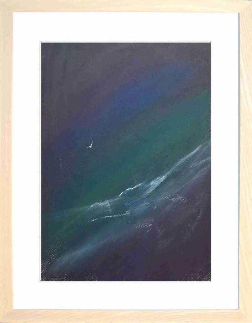Framed Painting Gull I