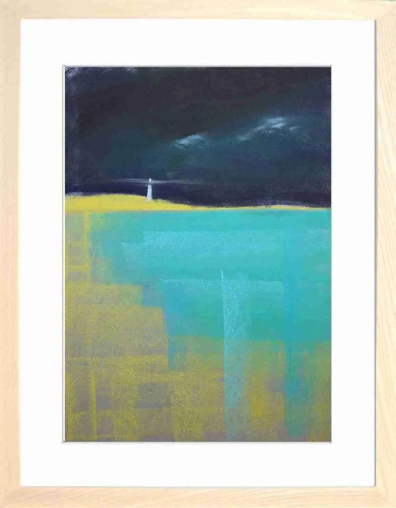 Framed Painting Headland