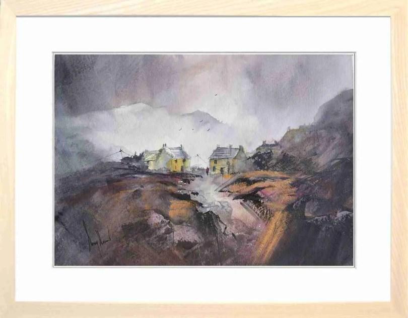Framed Painting Homestead III