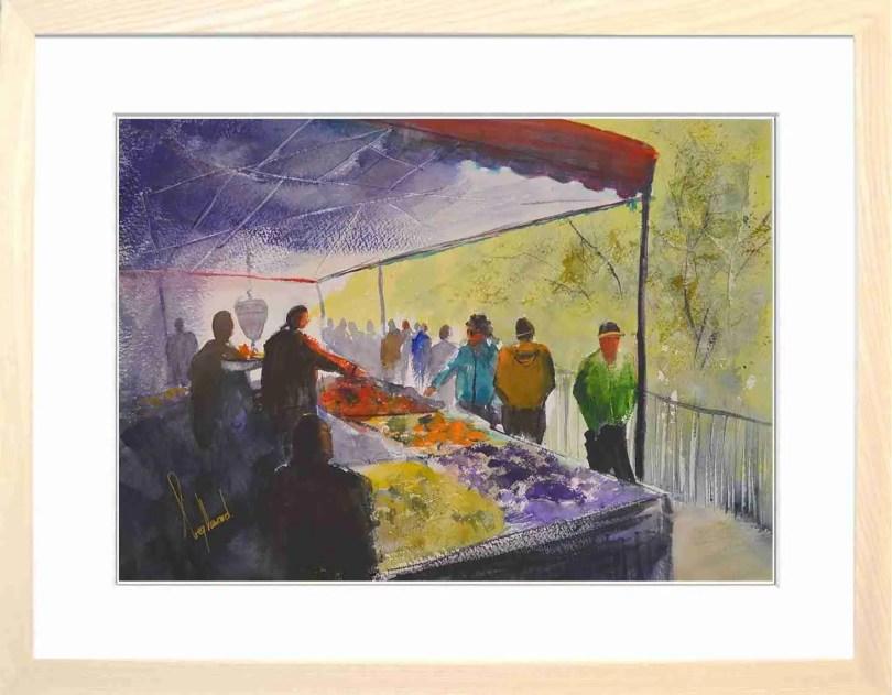 Framed Painting Market Day V