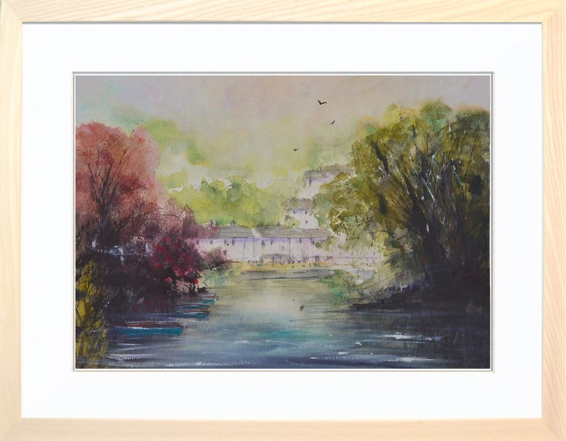 Framed Painting Matlock Bath II Derbyshire