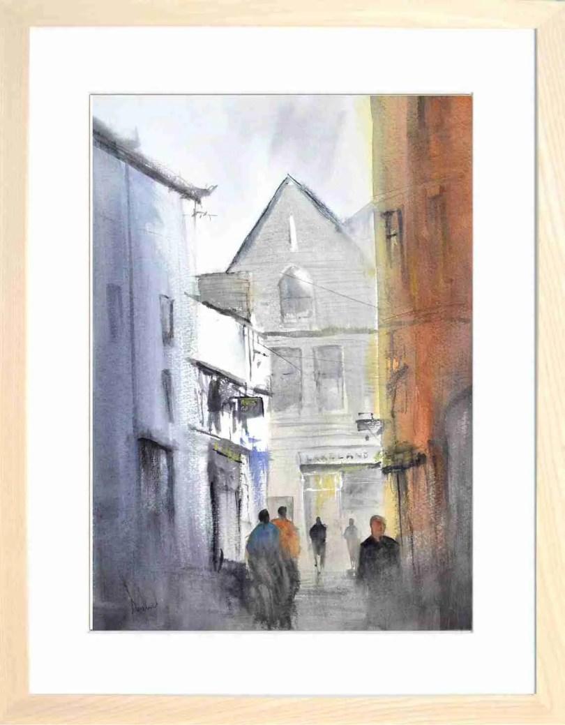 Framed Painting Morning Sunshine In Keswick