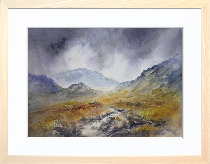 Framed Painting Passing Showers