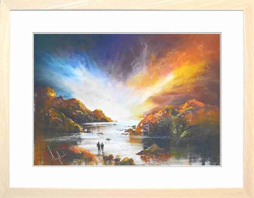 Framed Painting Radiant V