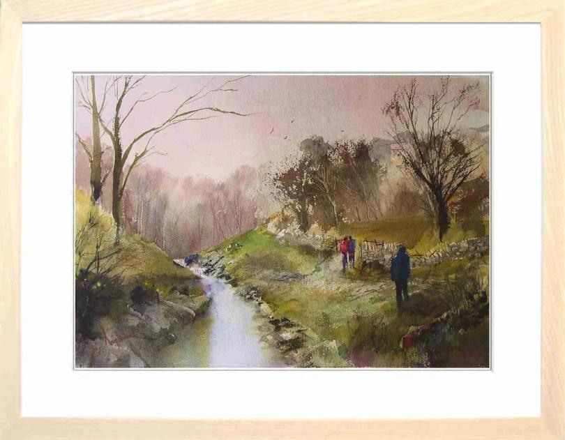 Framed Painting Riverside II