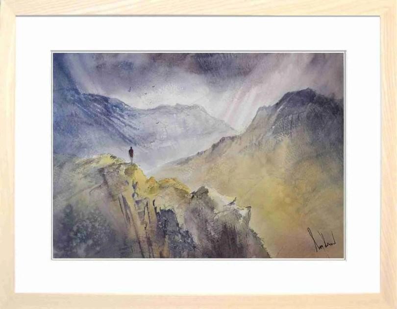 Framed Painting Solitude