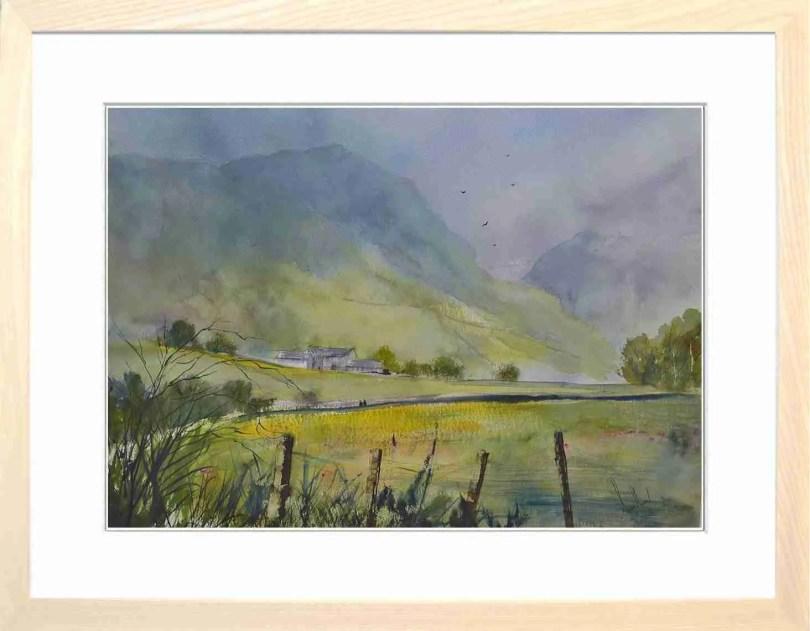 Framed Painting Summer In Langdale II