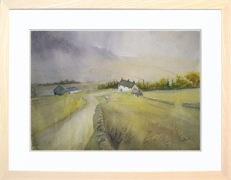 Framed Painting The Dales
