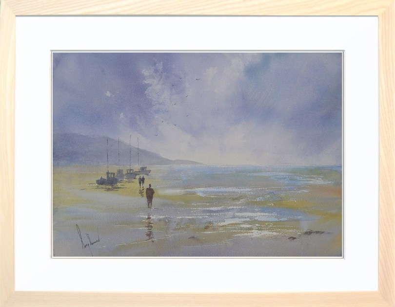 Framed Painting Tides Out II