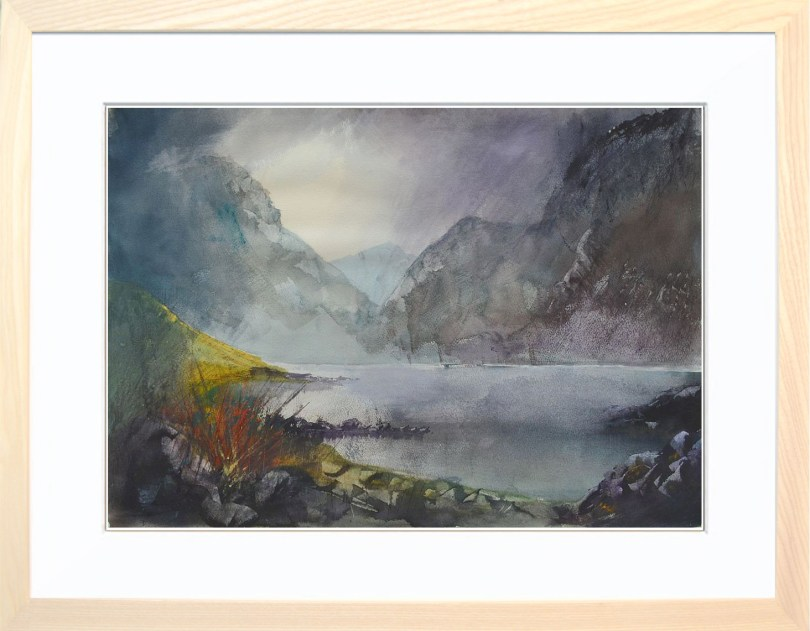 Framed Painting Wasdale Cumbria VI