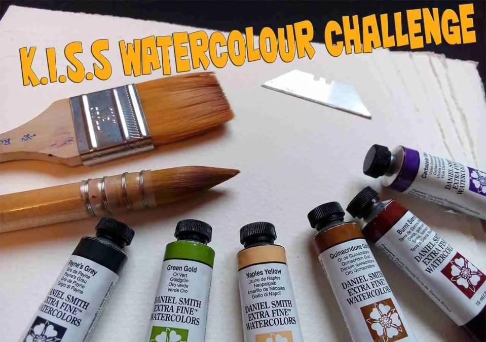 KISS Watercolour Challenge Web
