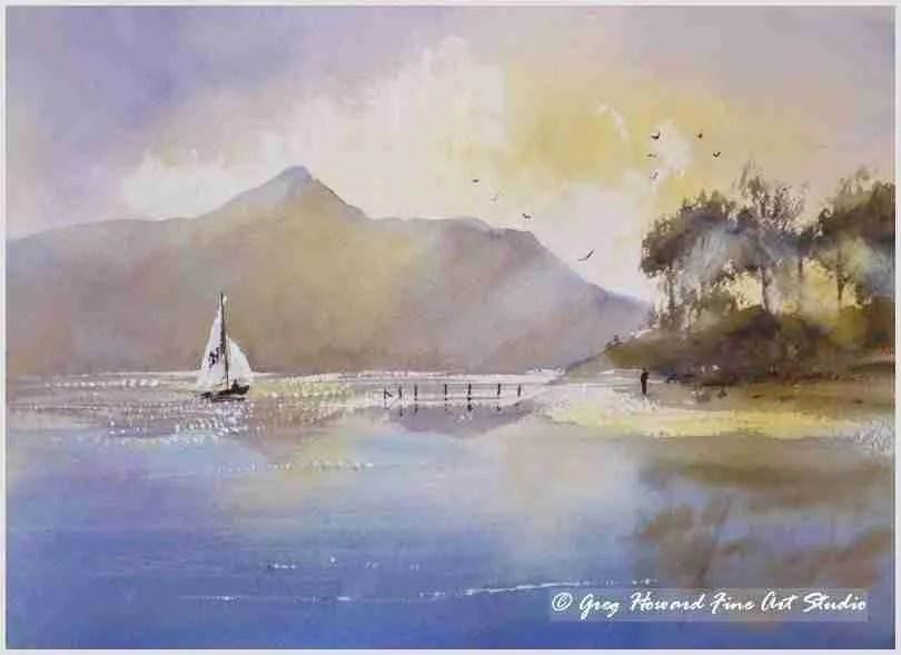 Late Afternoon On Derwent Water