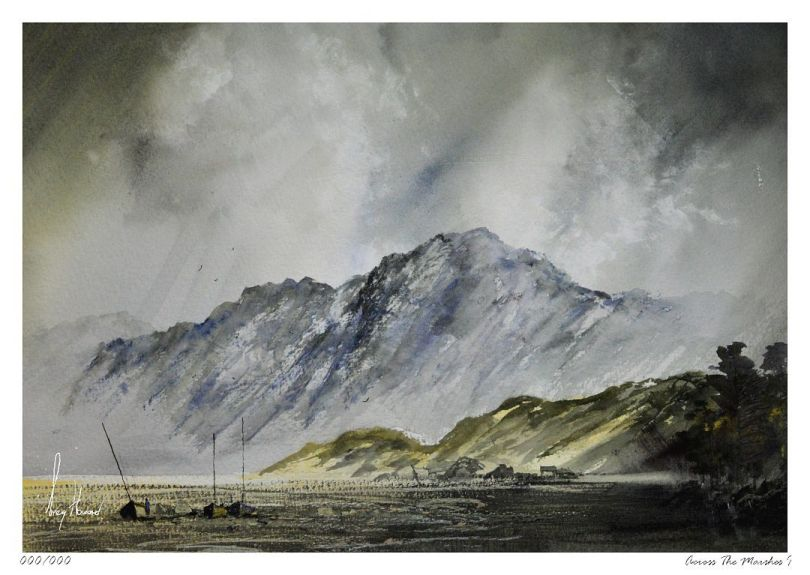 Limited Edition Print Across The Marshes I