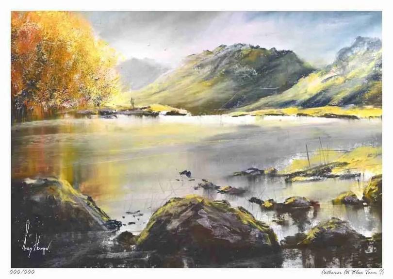 Limited Edition Print Autumn At Blea Tarn II