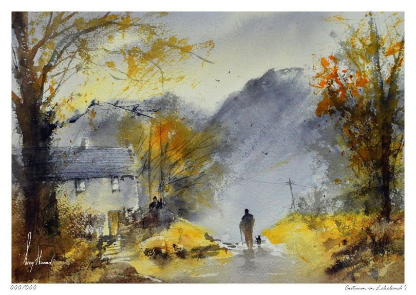 Limited Edition Print Autumn In Lakeland I