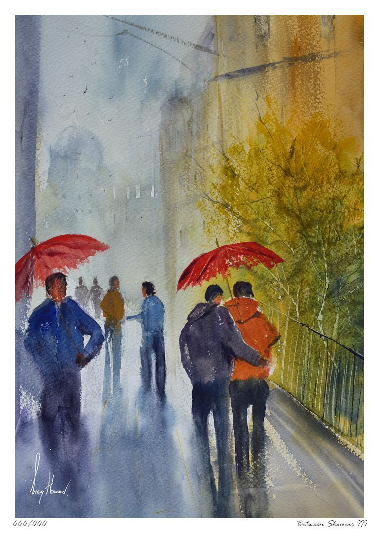 Limited Edition Print Between Showers III
