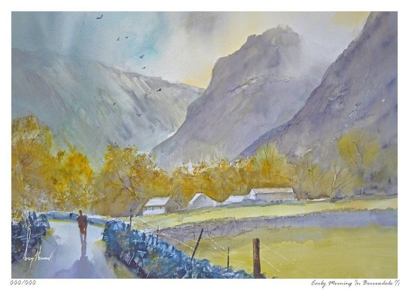 Limited Edition Print Early Morning In Borrowdale II