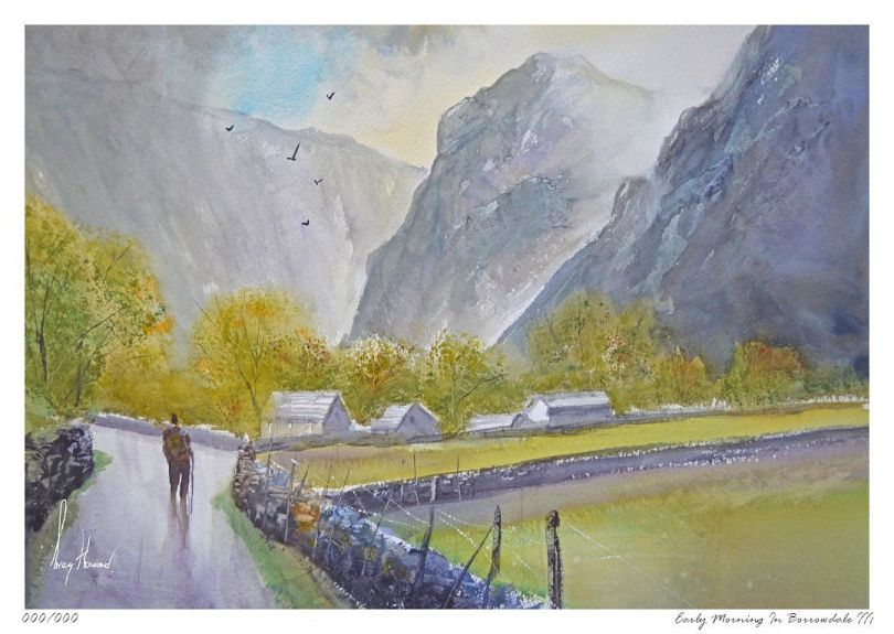Limited Edition Print Early Morning In Borrowdale III