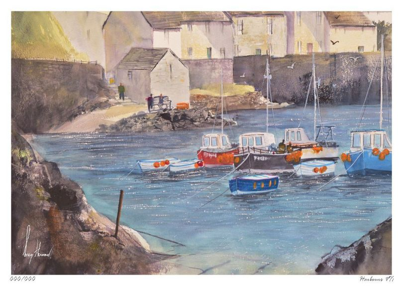 Limited Edition Print Harbours VII