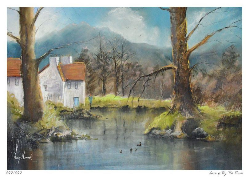 Limited Edition Print Living By The River