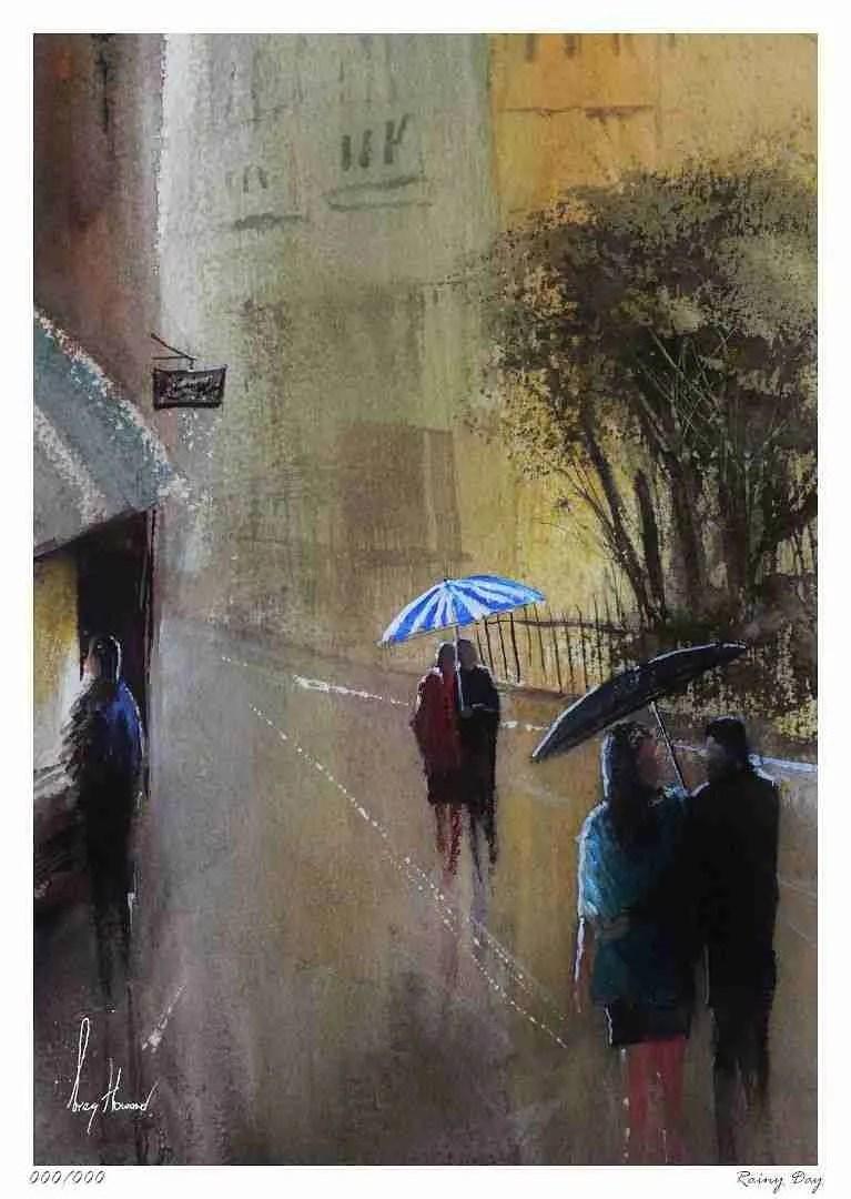 Limited Edition Print Rainy Day