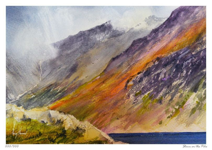 Limited Edition Print Storm On The Pike