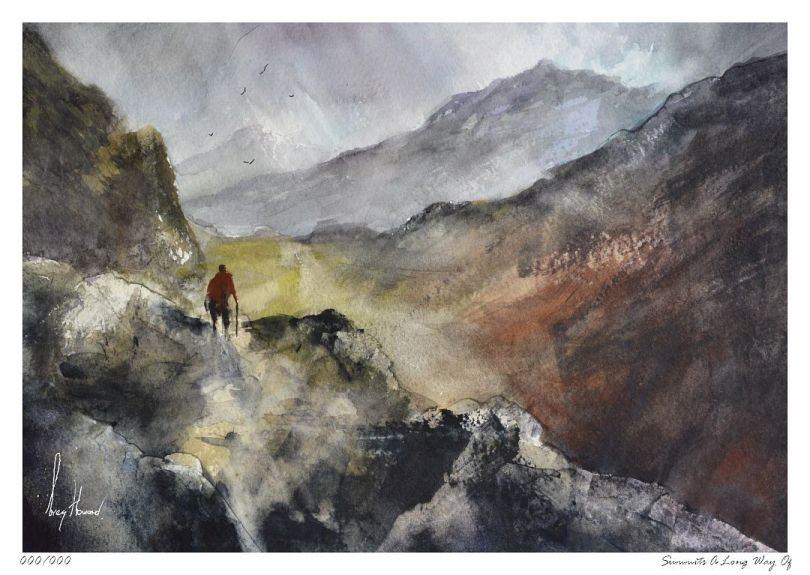 Limited Edition Print Summits A Long Way Of
