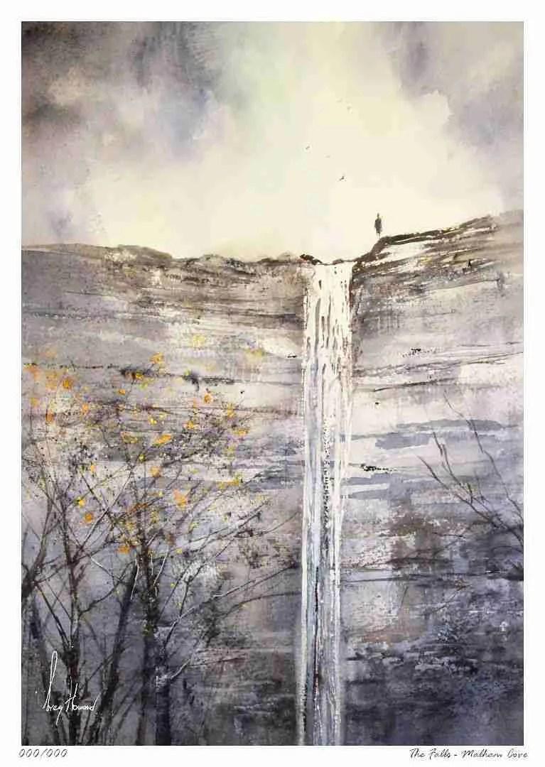 Limited Edition Print The Falls Malham Cove