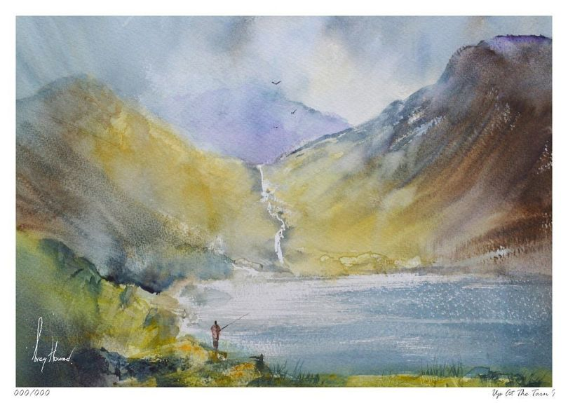 Limited Edition Print Up At The Tarn I