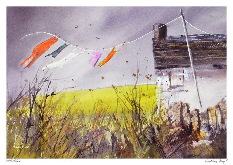 Limited Edition Print Washing Day I