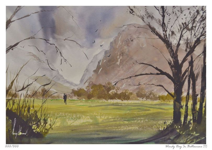 Limited Edition Print Windy Day In Buttermere III