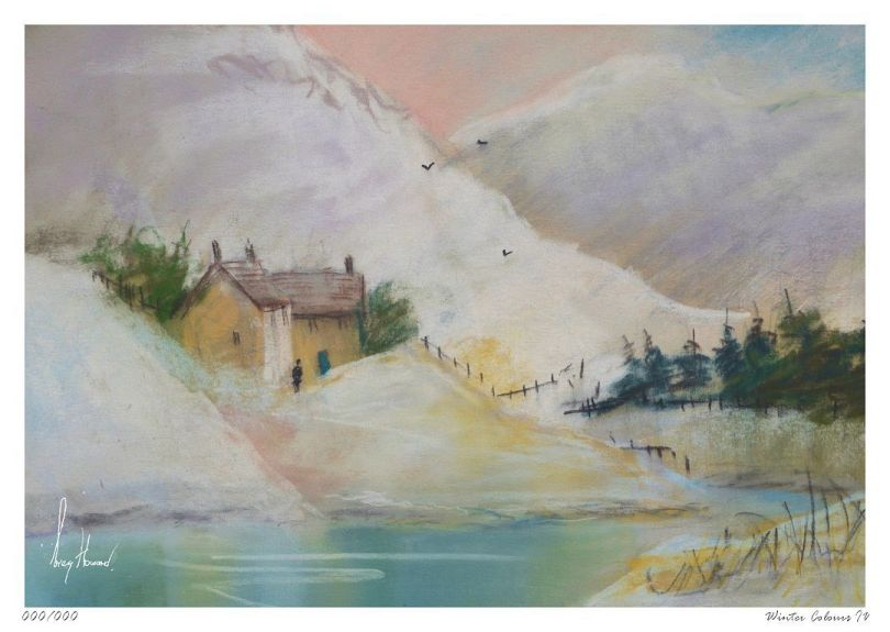 Limited Edition Print Winter Colours IV