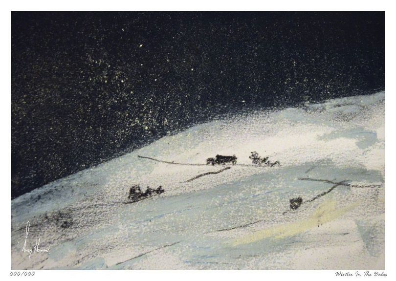 Limited Edition Print Winter In The Dales