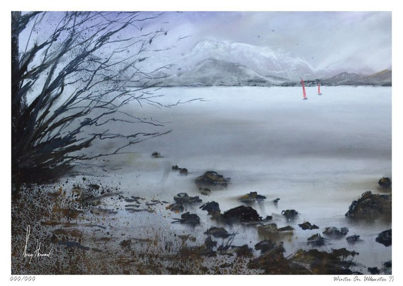 Limited Edition Print Winter On Ullswater II