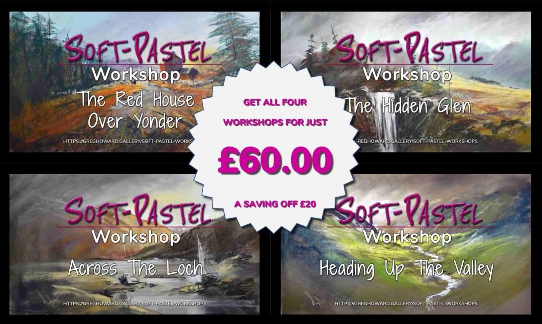 NOTITLE Soft Pastel Landscape Workshop Bundle #1 WEB