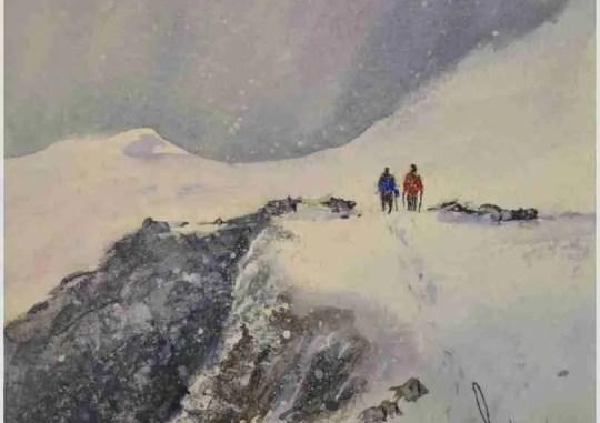 Snow On The Peak
