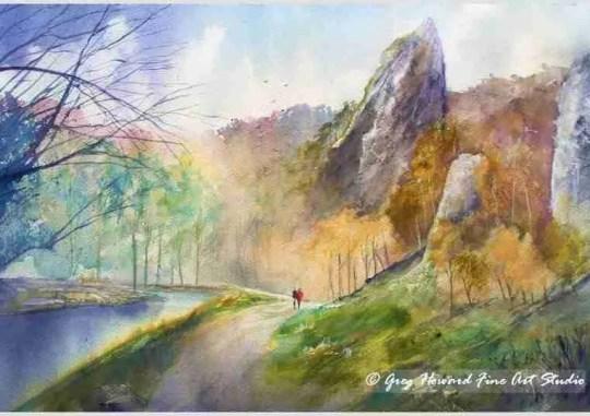 Tissington Spires Dovedale Derbyshire