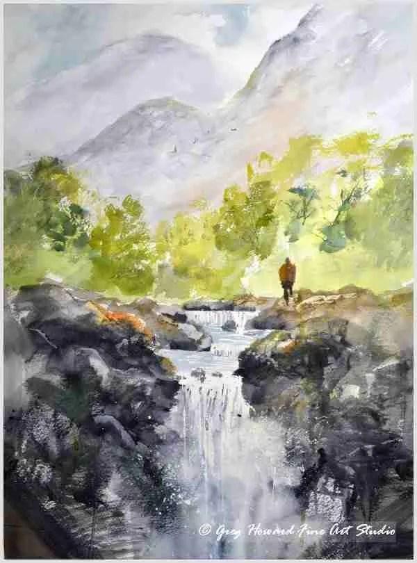 Up At The Falls II