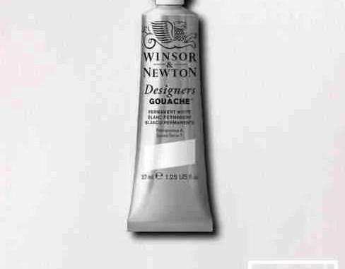 Winsor Newton Gouache Permanent White