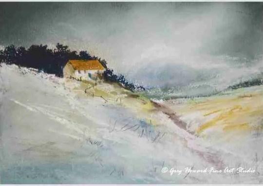 Winter On The Moors